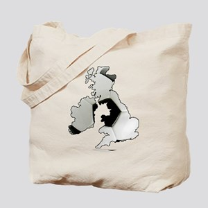 UK Soccer Tote Bag