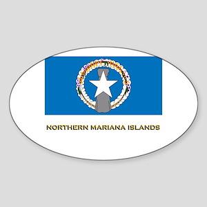 The Northern Mariana Islands Flag Stuff Sticker (O
