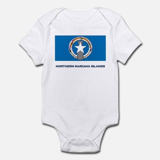 The Northern Mariana Islands Flag Gear Infant Body
