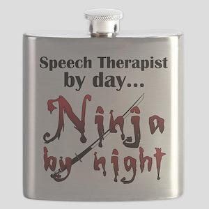 Speech Therapist Ninja Flask