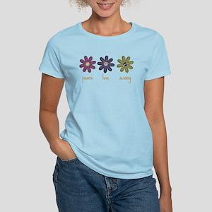 Peace Love Sewing Women's Light T-Shirt