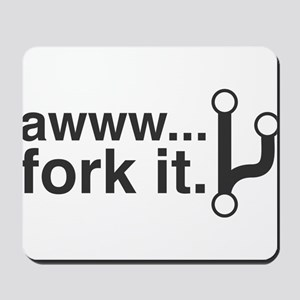 Fork It Mousepad