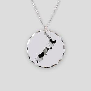 UK Soccer Necklace Circle Charm