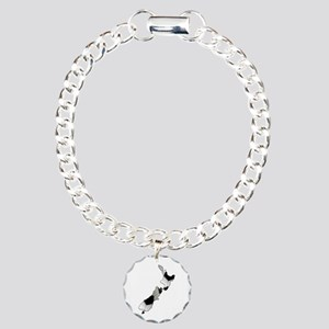UK Soccer Charm Bracelet, One Charm