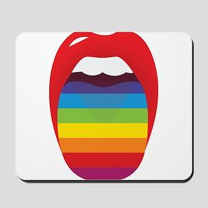 Lipstick Lesbian Domination Mousepad