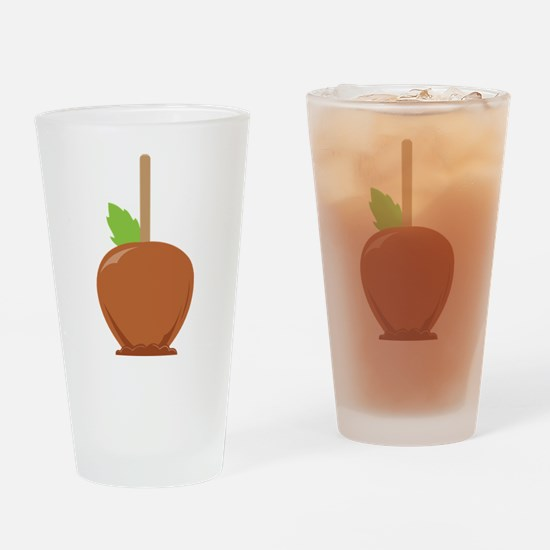 Caramel Candy Apple Drinking Glass