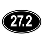 27.2 Go The Extra Mile Sticker (Oval)