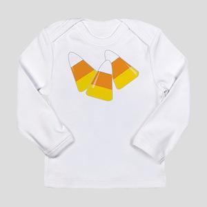 Candy Corn Long Sleeve Infant T-Shirt