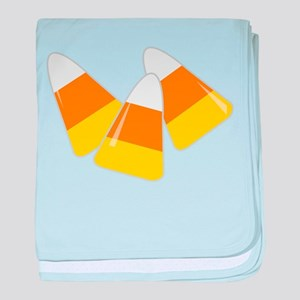 Candy Corn baby blanket
