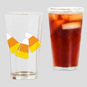 Candy Corn Drinking Glass