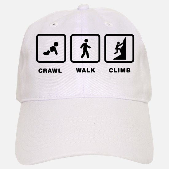 Climbing Baseball Baseball Cap