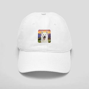 White Husky Meadow Cap