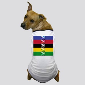 world champ stripes Dog T-Shirt