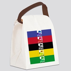 world champ stripes Canvas Lunch Bag