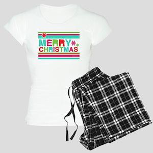 Modern Merry Christmas Women's Light Pajamas