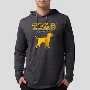 border terrierW Mens Hooded Shirt
