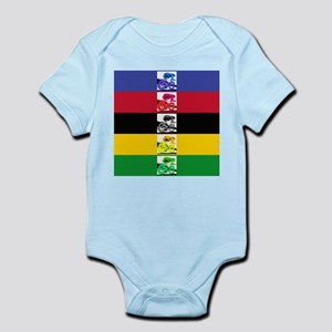 world champ stripes Infant Bodysuit