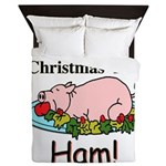 Christmas Ham Queen Duvet
