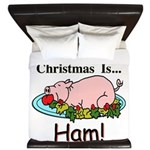 Christmas Ham King Duvet