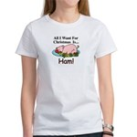 Christmas Ham Women's T-Shirt