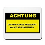 Achtung VW Mousepad