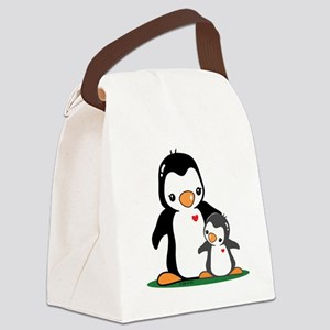 Mom & Baby Canvas Lunch Bag
