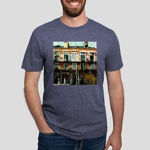 STROLL THREW THE FQ BOX Mens Tri-blend T-Shirt