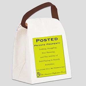 privateamstaff Canvas Lunch Bag