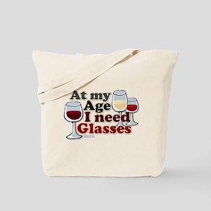 I Need Glasses Tote Bag