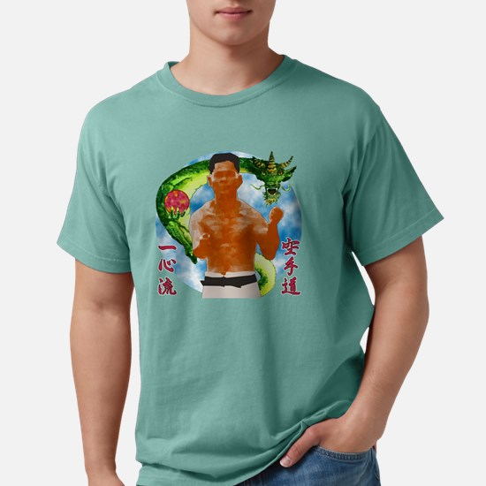 2-MA Shimabuku dragon.pn Mens Comfort Colors Shirt