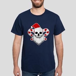 Skull Santa Dark T-Shirt