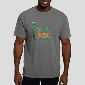 Will Play Bassoon T dark Mens Comfort Colors Shirt