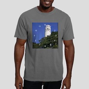 Coit Tower 2 clock 2 Mens Comfort Colors Shirt