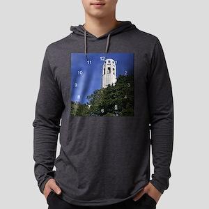 Coit Tower 2 clock 2 Mens Hooded Shirt