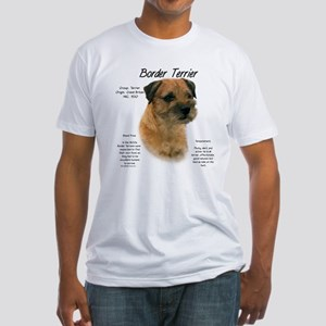 Border Terrier Fitted T-Shirt