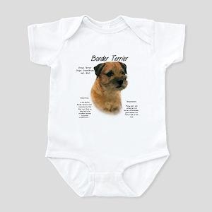 Border Terrier Baby Light Bodysuit