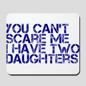 2 daughters ci Mousepad