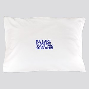 2 daughters ci Pillow Case