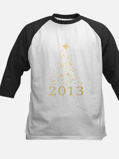 Happy new year 2013 Kids Baseball Jersey