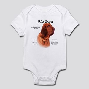 Bloodhound Baby Light Bodysuit