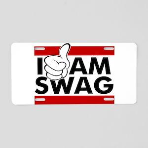 I Am Swag Aluminum License Plate