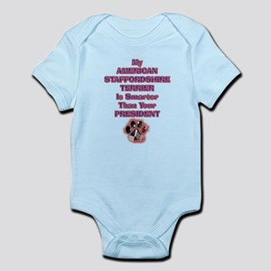 amstaffpresident Infant Bodysuit