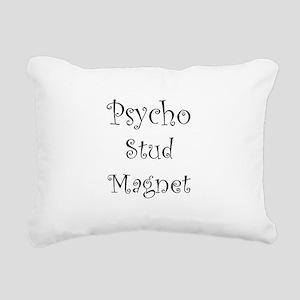 Psycho Stud Magnet Rectangular Canvas Pillow