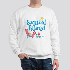 Sanibel Island - Ash Grey Sweatshirt