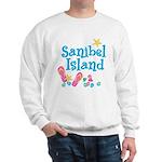 Sanibel Island - Ash Grey Sweatshirt