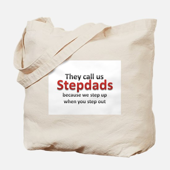 Step Up Dads Tote Bag