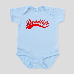 Team Deadlift Red Infant Bodysuit