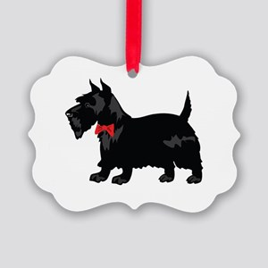 Scottish Terrier Picture Ornament