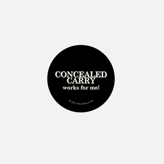 Concealed Carry Mini Button