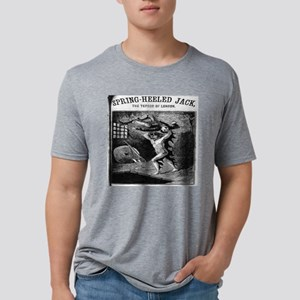 Spring heeled jack Mens Tri-blend T-Shirt